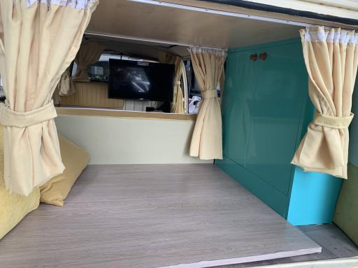 Classic campervan promo hire custom fit