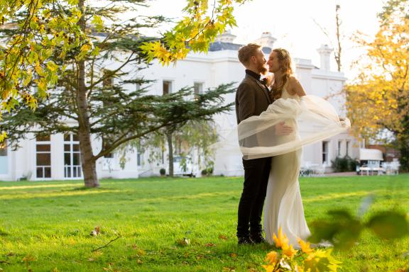 Morden Hall wedding venue near London