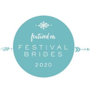 festival+brides+badge+