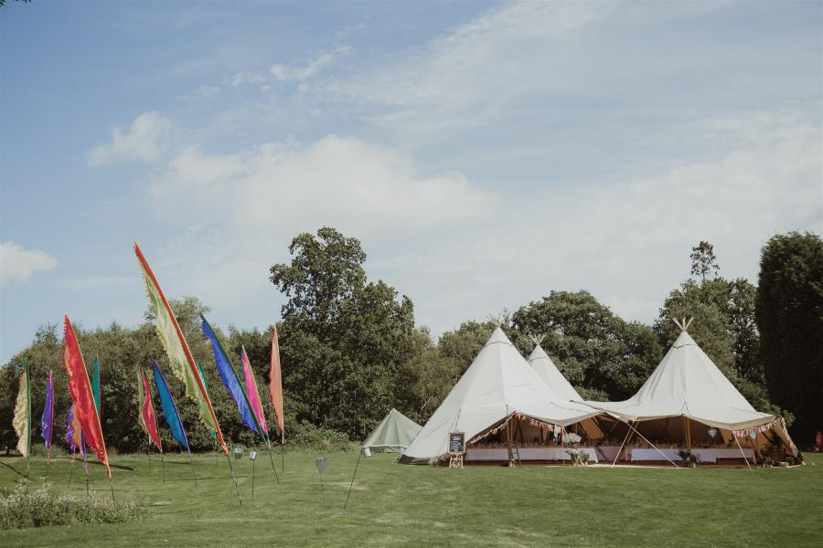 tipi hire for outdoor events