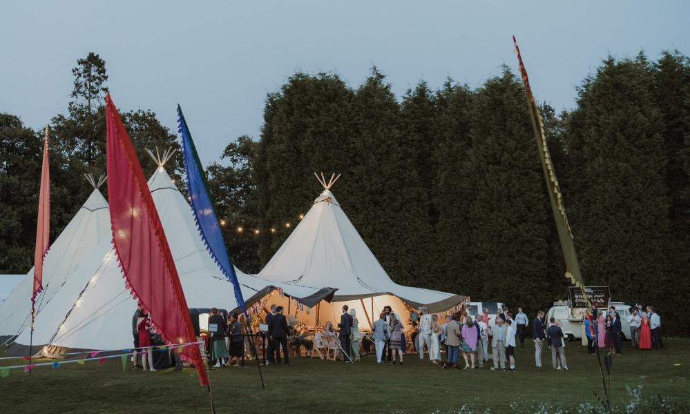 Tipi hire in Surrey