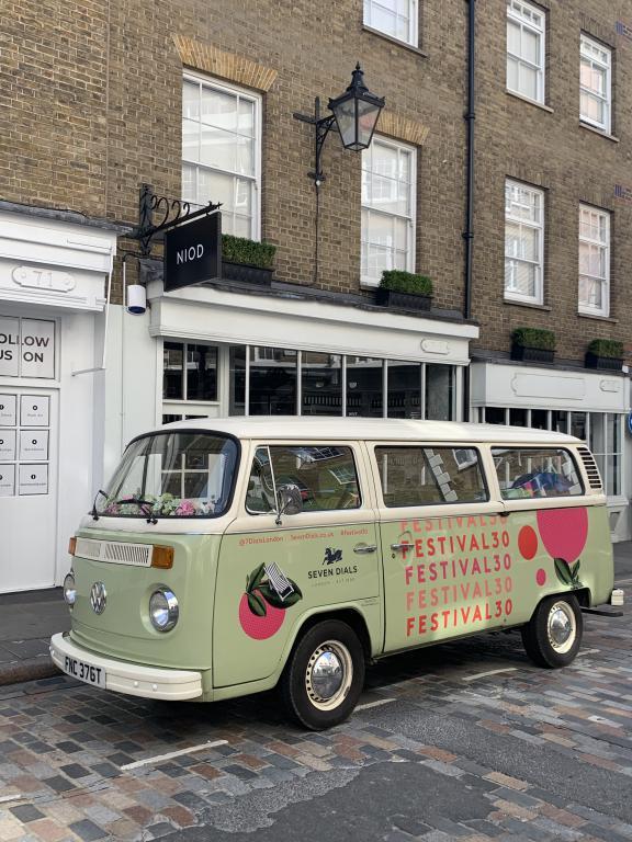 Branded campervan hire in London